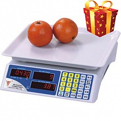 Cân điện tử cho cửa hàng hoa quả HY085