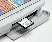 Máy tính tiền siêu thị Casio TE3000S