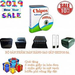 Bộ sản phẩm bán hàng cao cấp cho cửa hàng tiện lợi CHIPOS 3A