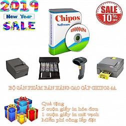 Bộ sản phẩm bán hàng cao cấp cho quán trà sữa CHIPOS 4A