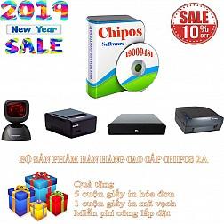 Bộ sản phẩm bán hàng cao cấp quán cafe CHIPOS 2A