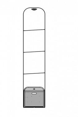 Cổng từ an ninh Eguard EG-3300CS Mono