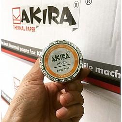 Giấy in hóa đơn nhiệt K80 Akira (bọc bạc)
