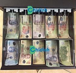 Két đựng tiền thu ngân Antech RT410 - 10 ngăn tiền giấy
