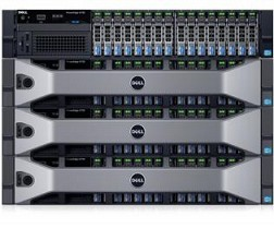 Máy chủ Dell PowerEdge R730 E5-2609v3 6C 1.9Ghz RAM 8GB H730 3.5 Power 2x1100W