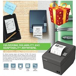 Máy in hóa đơn Epson TM T82 (Cổng kết nối USB+LAN)