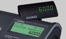 Máy tính tiền siêu thị Casio SE-C6000